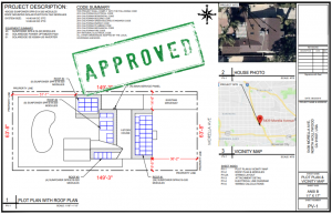 approved solar plans