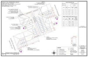 solar panels layout scheme