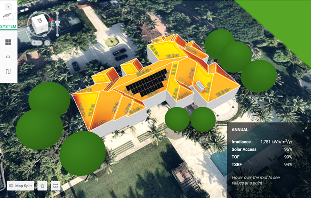 solar pv layout